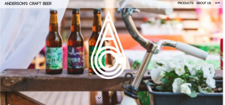 Anderson's craft beer